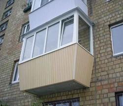 остекление балконов в Томске