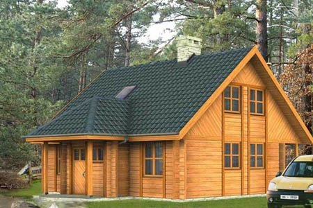 дома на основе деревянного каркаса г.Томск